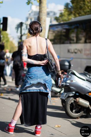 Marianne Theodorsen The Styledevil Street Style Street Fashion Streetsnaps by STYLEDUMONDE Street Style Fashion Photography