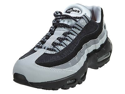 18a33665ab0 Nike Air Max 95 Essential Mens 749766-005 Black Grey Running Shoes ...