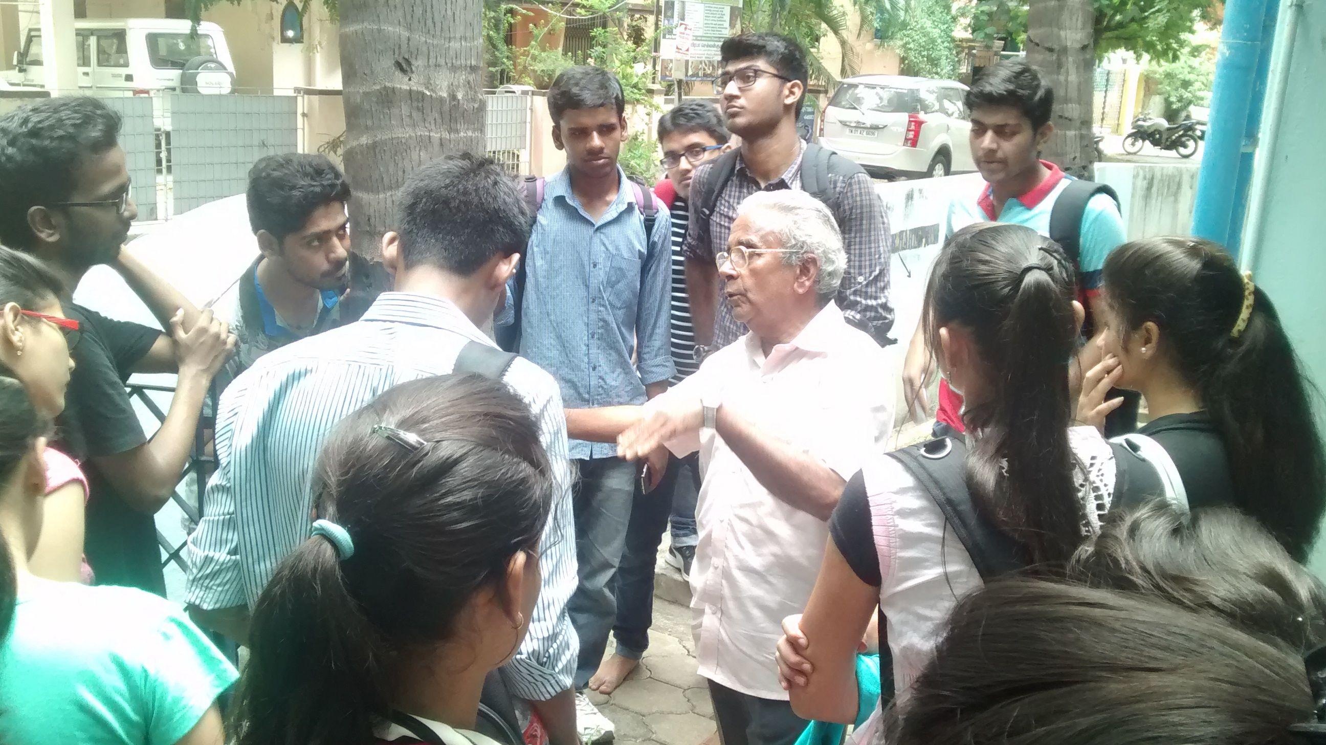 Chennai Water Crisis 71YO 'Rain Man' Helps Hundreds