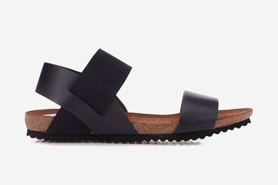OJJU — dámské sandály — letní — černé — kožené ff76d553eb5
