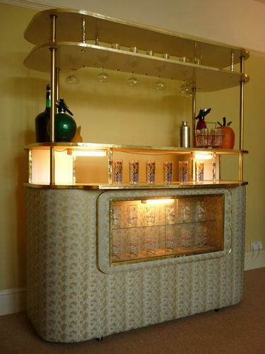 VINTAGE Cocktail Bar Home Drinks Cabinet UK