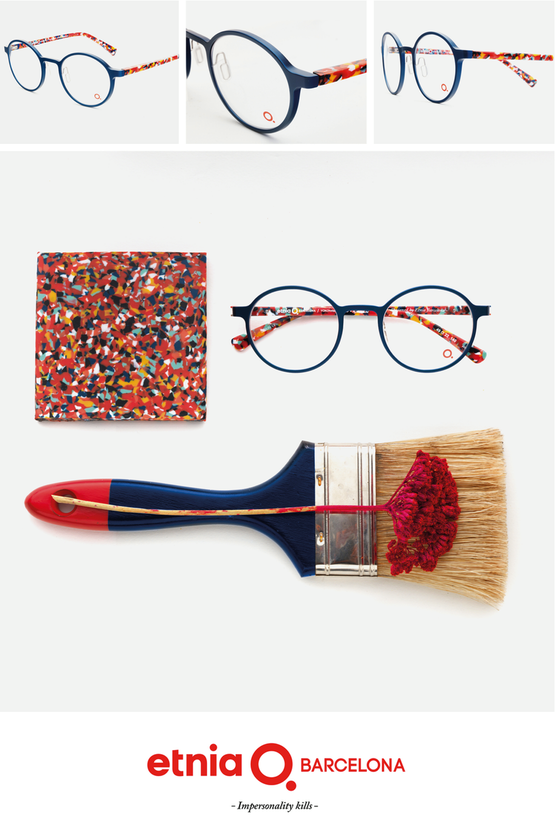 Glasses that resemble a work of art, from Etnia Barcelona http://www.EyeElegance.com/Post-Oak-Collection/