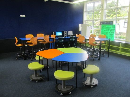 Modern Classroom With Students : Pin by glenn hardy on flexible learning spaces pinterest