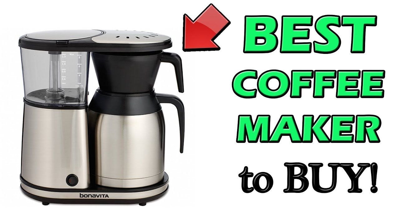 Best Drip Coffee Maker 2018 Moccamaster Alternative