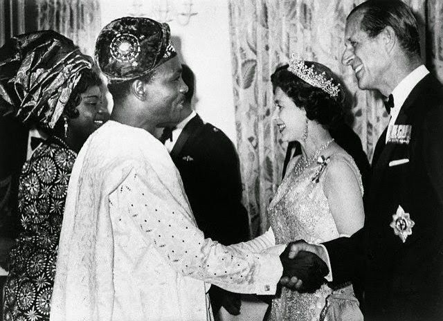 Blast From The Past - Gowon and Wife