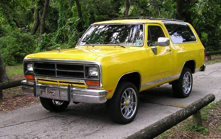 1989 Dodge Ramcharger 4x4 By Blake Davis Old Dodge Trucks Dodge Ramcharger Power Wagon