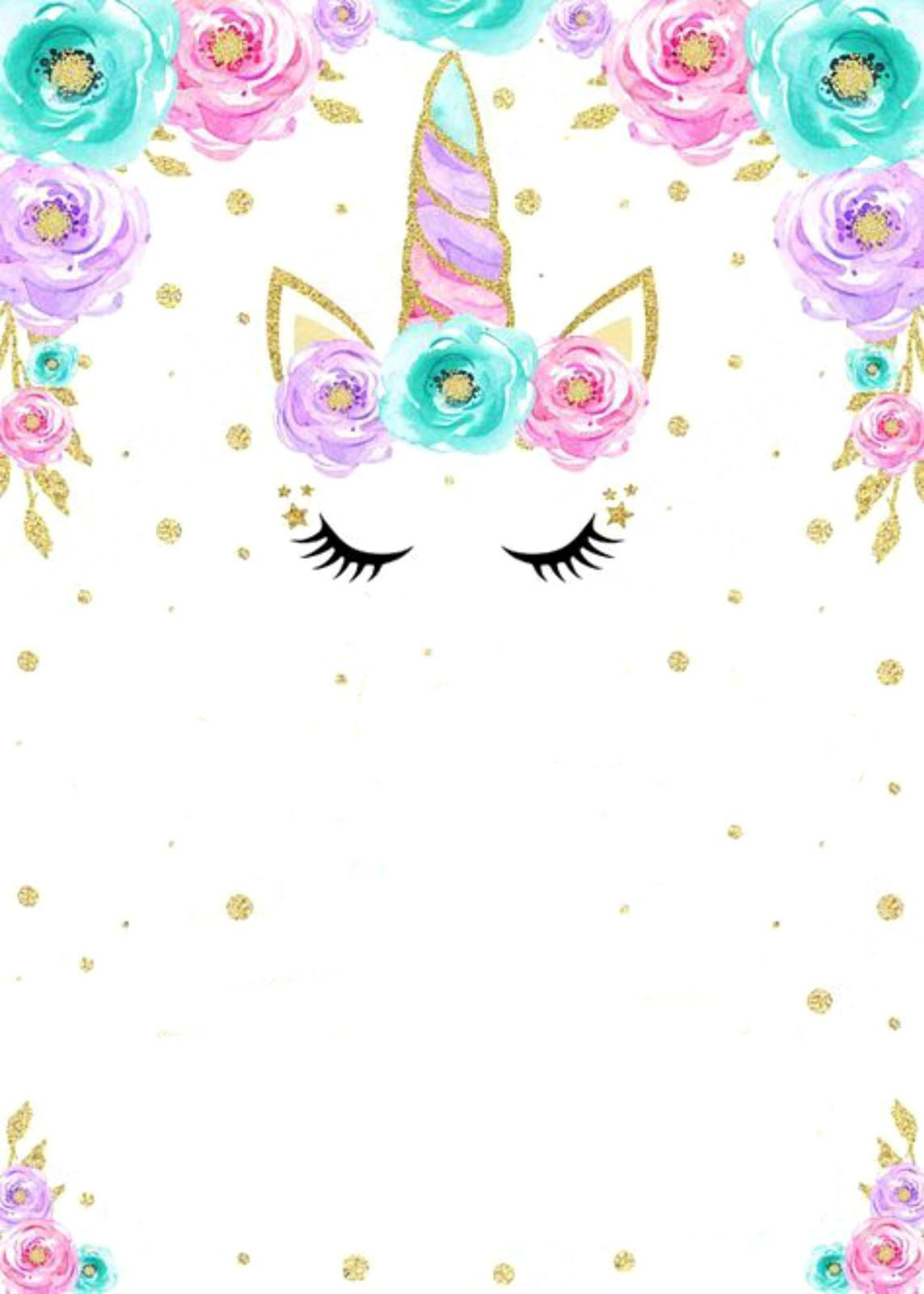 Image Result For Imagenes De Unicornio Invitacion Para