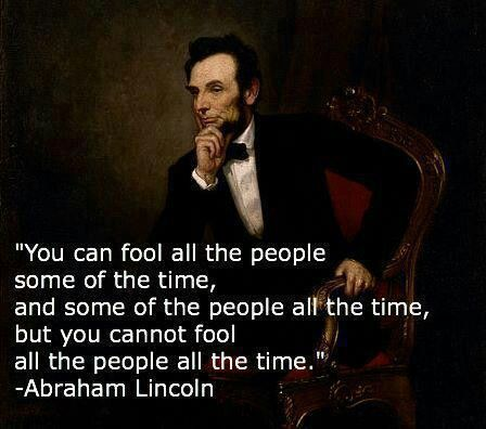 Abe Lincoln I Thought He Was A Great President From