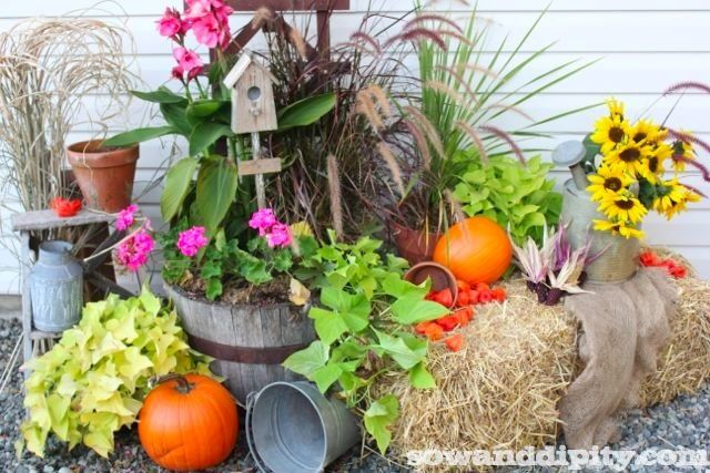 Flower Garden Design Ideas - | Flower, Planters and Gardens