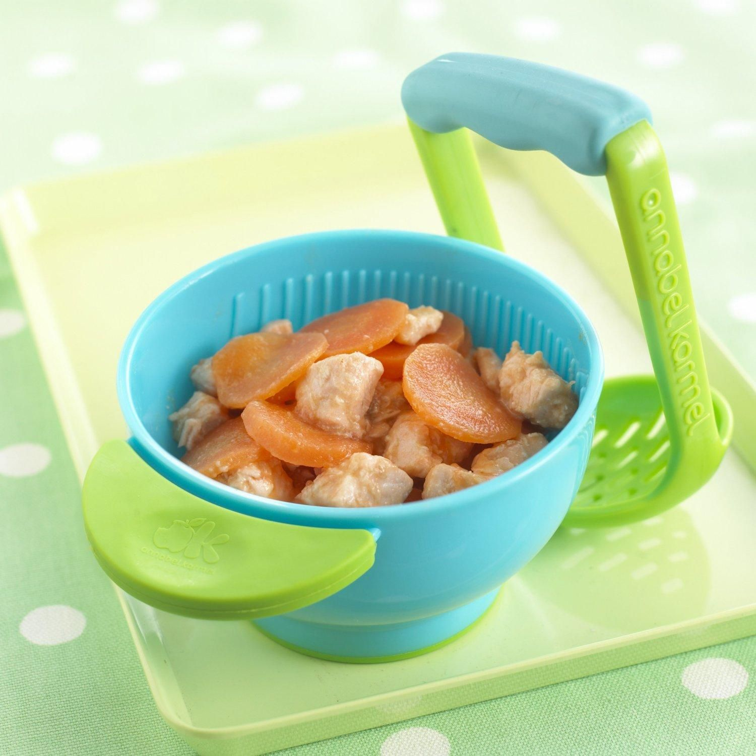 Amazon.com : NUK Mash and Serve Bowl for Making Homemade Baby Food : Baby Dinnerware Sets : Baby