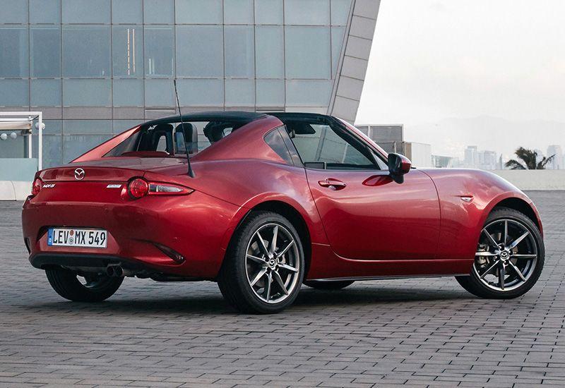 2017 Mazda Mx 5 Rf Miata Hardtop Convertible