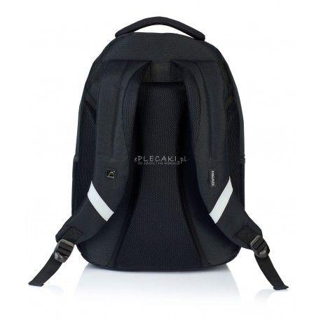 82756651f62e7 Plecak młodzieżowy HEAD czarny HD-68 B czarny gładki plecak