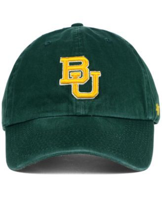 '47 Brand Baylor Bears Clean-Up Cap - Green Adjustable