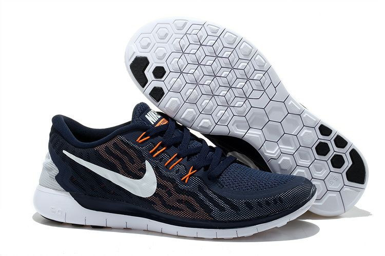 Buy 2015 Nike Free 2 Mens Shoes Latest Running Sneakers For Cheap Deep Blue  White Orange Top Deals from Reliable 2015 Nike Free 2 Mens Shoes Latest  Running ...