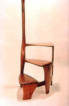 Wharton Esherick Library Stool Art Furniture Furniture Step Stool