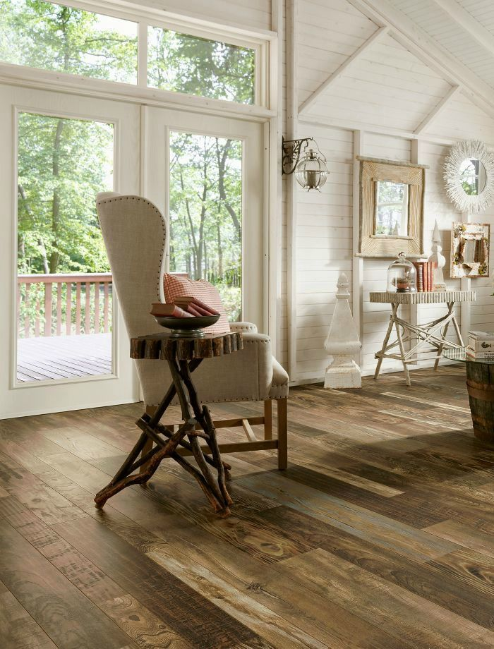 Armstrong Laminate Woodland Reclaim Old Original Wood Brown
