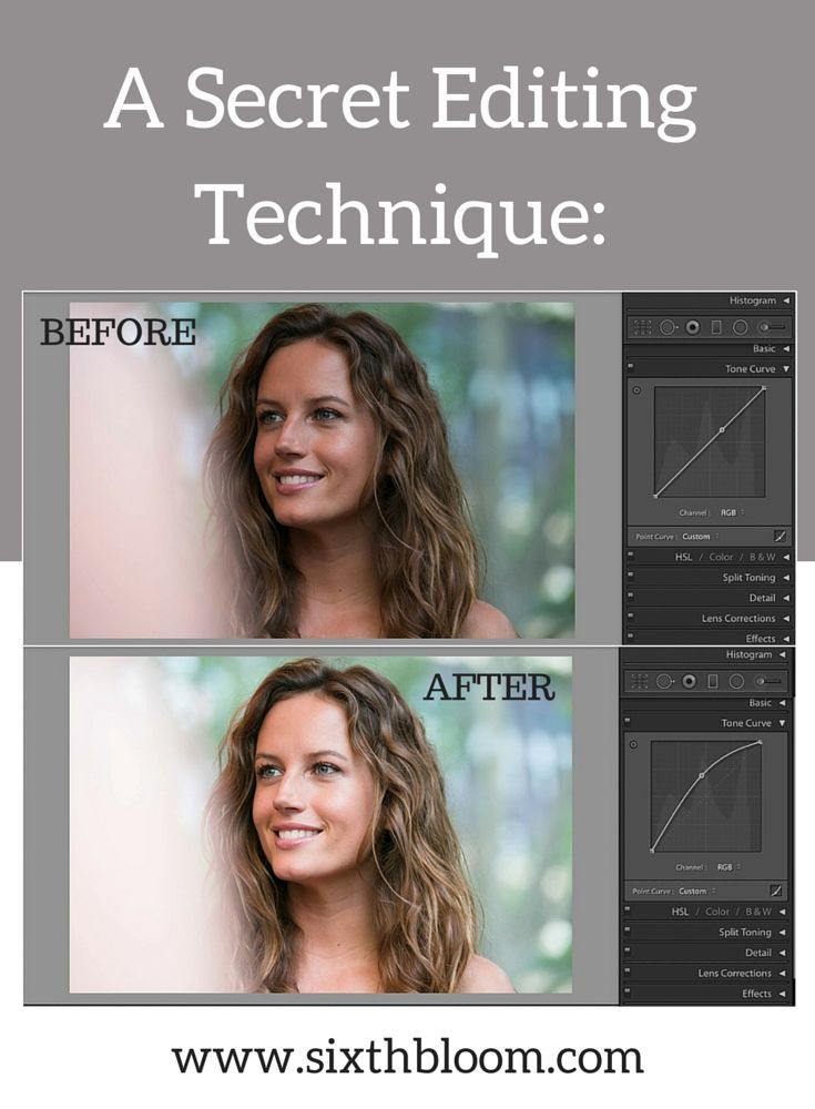 Basic lightroom editing tips