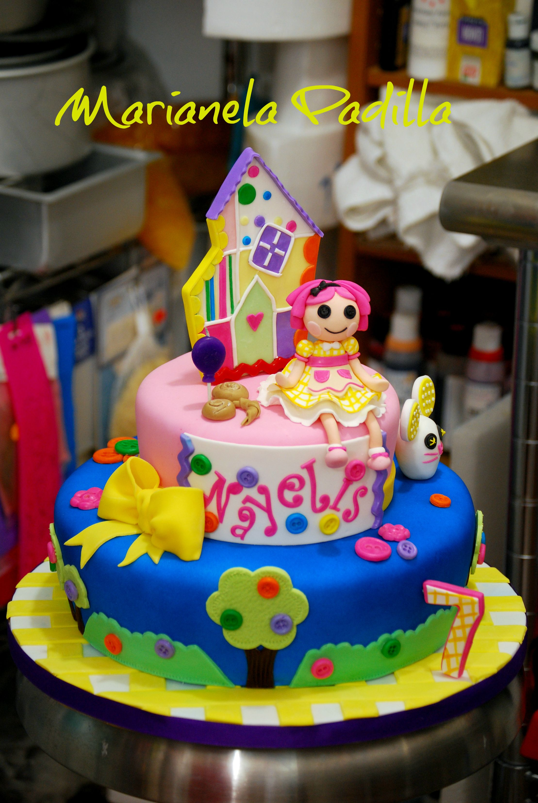 Lalaloopsy Birthday Cake This Cake Was Inspired By Lalaloopsys