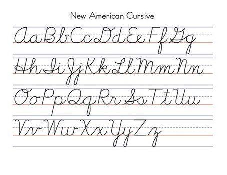 Image result for cursive I | Learning cursive, Teaching ...