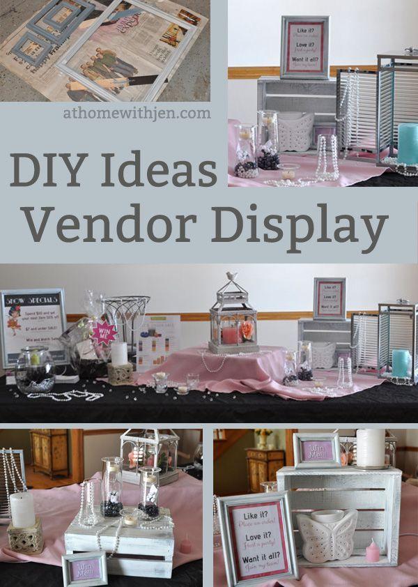 DIY Vendor Display Ideas