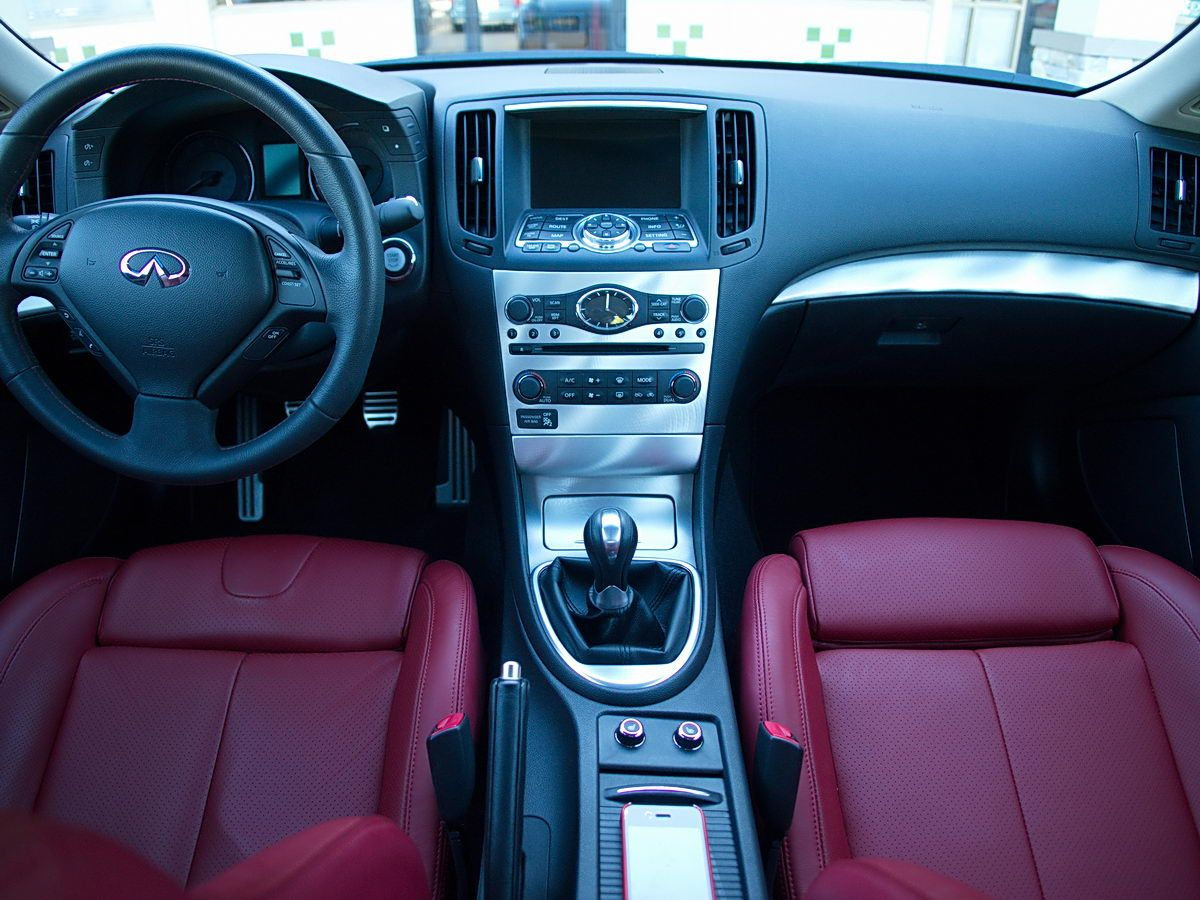 g37 coupe ipl interior Google Search Infiniti G35/G37