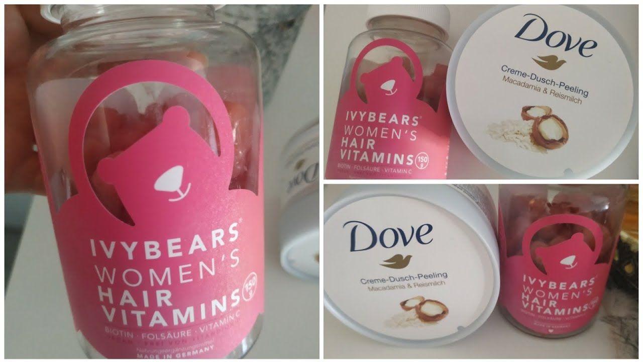 مقشر ومرطب و مبيض من أروع ما جربت من Dm وفيتامين روعة للشعر Youtube Vitamins For Women Hair Vitamins Shampoo Bottle