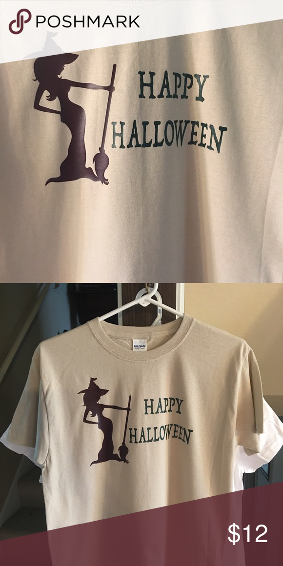 Happy Halloween Tshirt Youth Medium Unisex