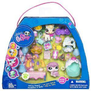 Amazon Com Littlest Pet Shop Festive Friends Toys Games Lps