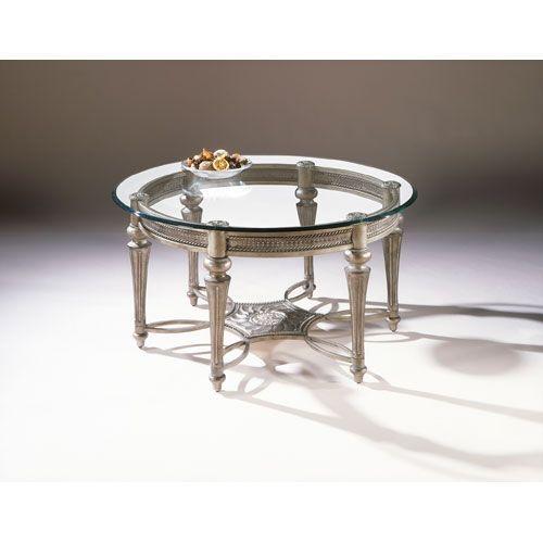 Magnussen Home Galloway Glass Round Cocktail Table With Glass Top 37506 Glass Top Coffee Table Coffee Table Wayfair