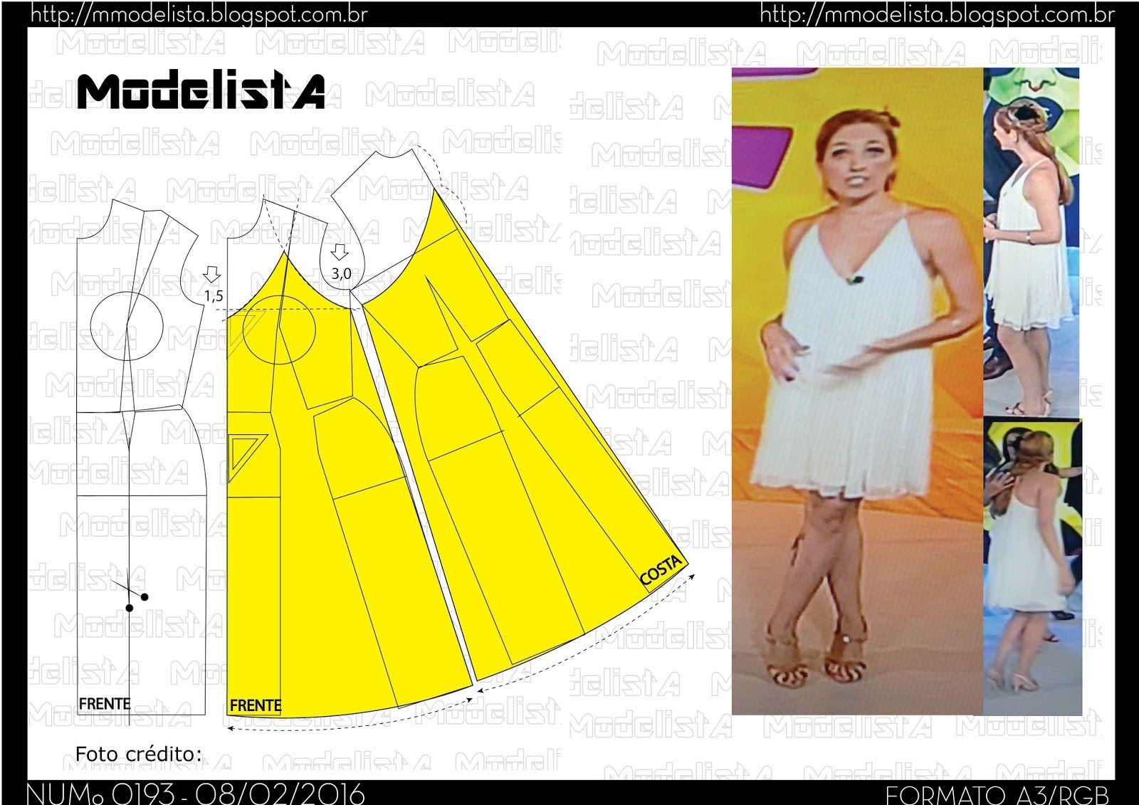 ModelistA: A3 NUMo 0193 DRESS