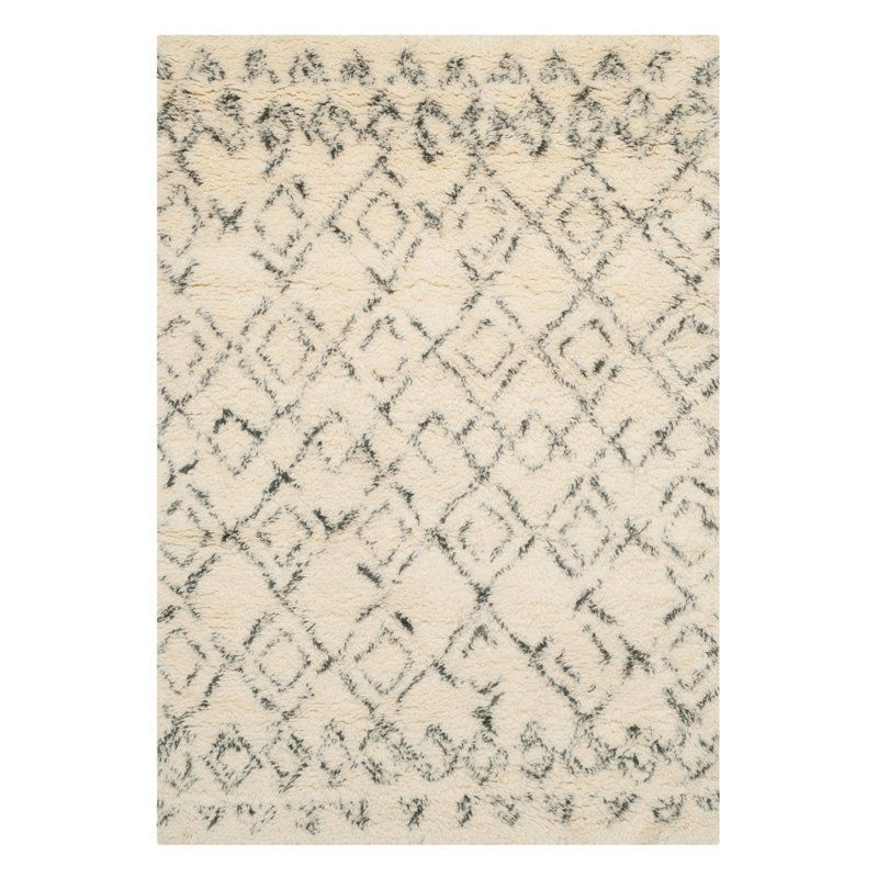 Safavieh Casablanca Csb845 Indoor Area Rug Grey Charcoal