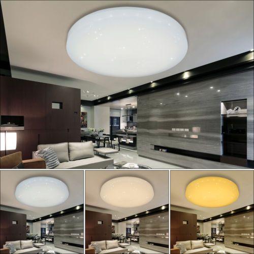 60W 3in1 Farbwechsel LED Deckenleuchte Flurleuchte Wohnzimmer Küche - deckenleuchte led wohnzimmer