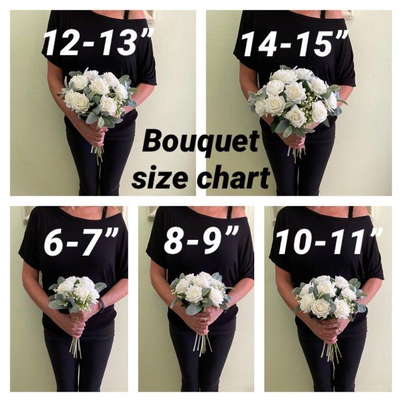 Boho wedding bouquet, READY TO SHIP premium white