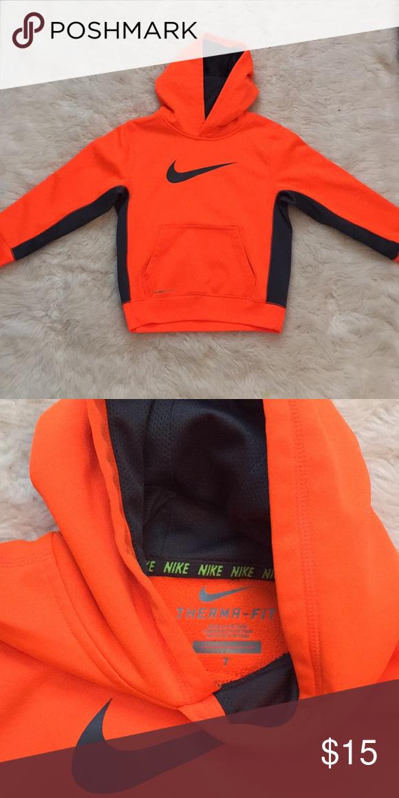 hot sale half price performance sportswear Neon Orange Nike Hoodie Like new condition. Neon orange Nike ...