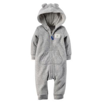 d9d770fbdd4f Carter s Raccoon Fleece Coverall - Baby Boy
