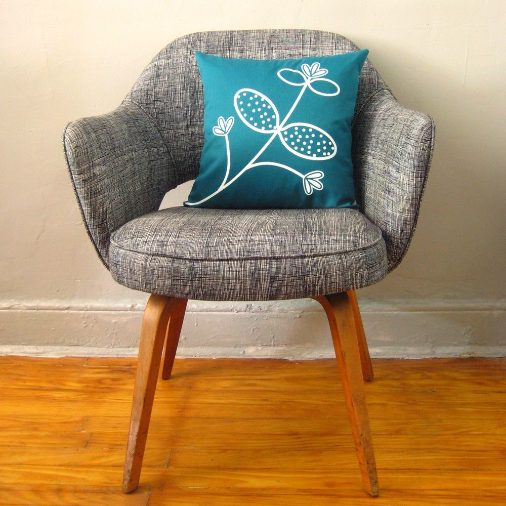 Fantastic chair and colour combination home decor pillows teal