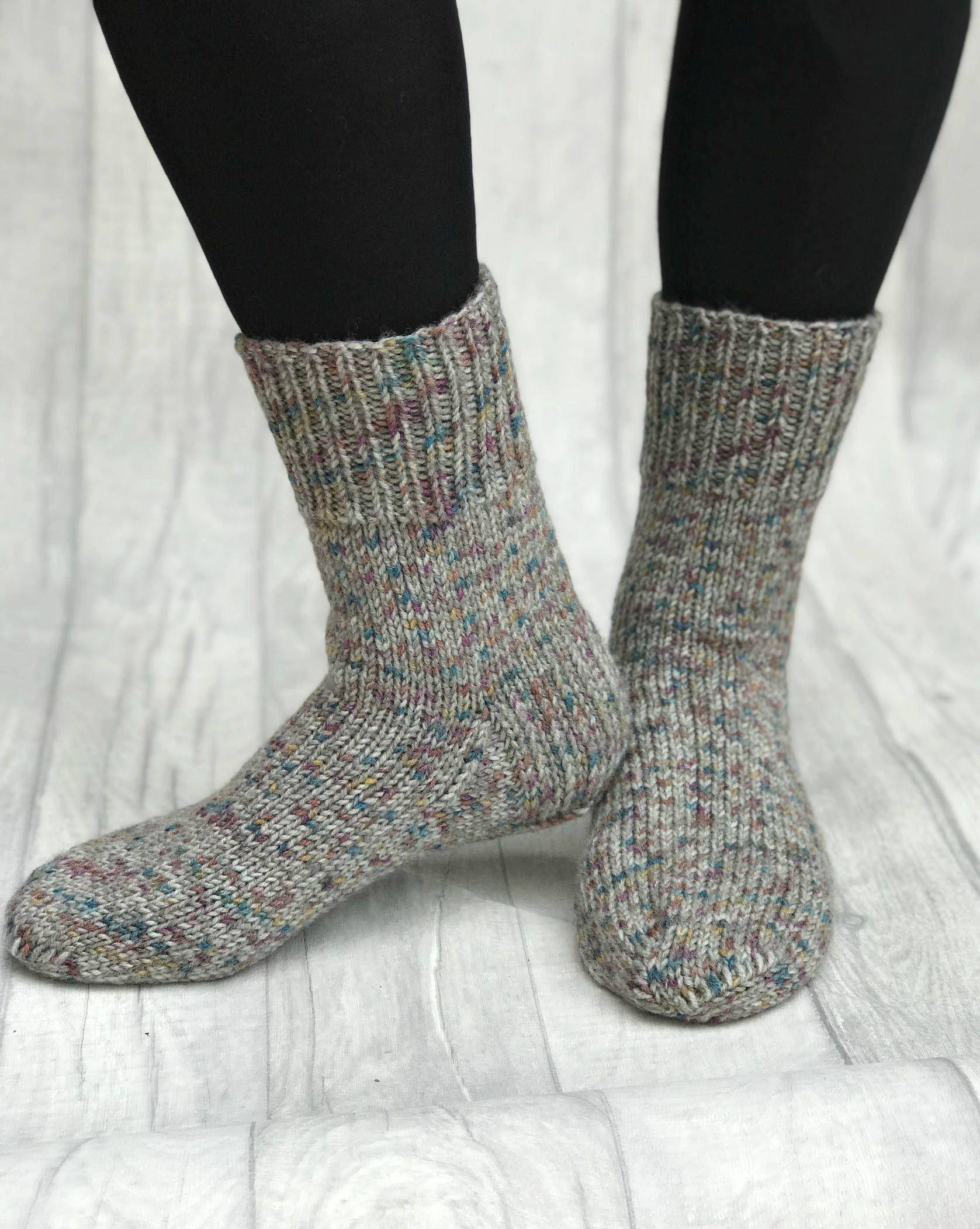 Knitted Men Socks Hand Knit Socks Hand Knit Mens Wool
