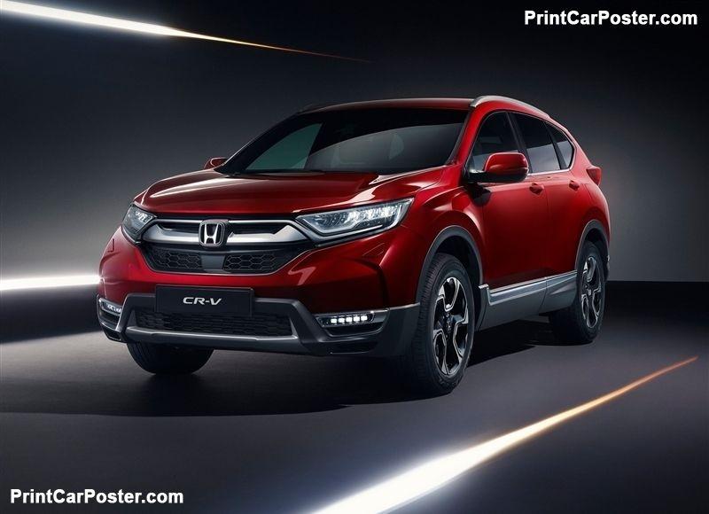Honda Cr V Eu 2019 Poster Id 1345289 Honda Cr Honda Crv Honda Hrv