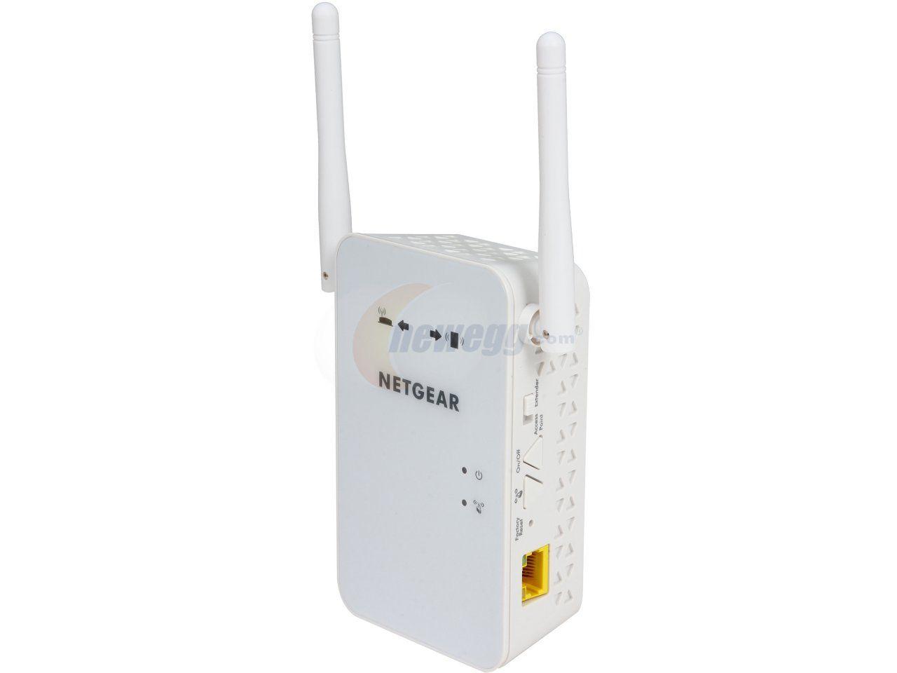 NETGEAR EX6100-100NAS Wireless AC750 Dual-Band Gigabit Range Extender - Newegg.com