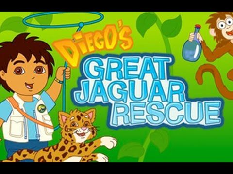 Go Diego Go Diegos Great Jaguar Rescue New Dora Friend Dora The Explorer Go Diego Go Free Online Math Games Dora The Explorer
