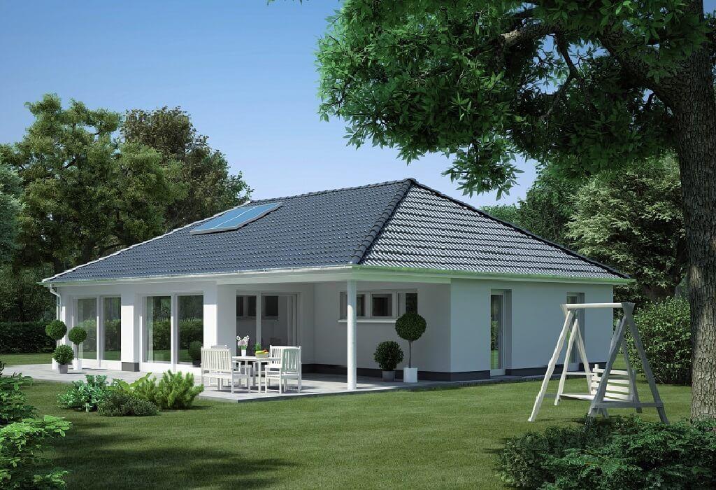 Winkelbungalow modicus m3000 heinz von heiden bungalow for Haus bauen moderne architektur