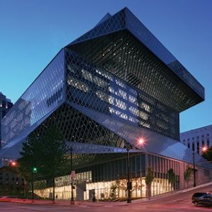 Seattle Public Library's Central Library