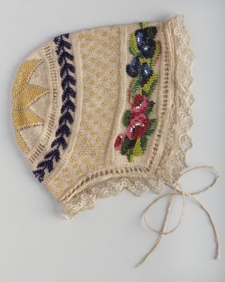 Embroidered Baptismal Cap Hungary 1830 Museum Of Applied Arts Budapest Acc 14869 Traditional Dresses Body Adornment Folk Costume