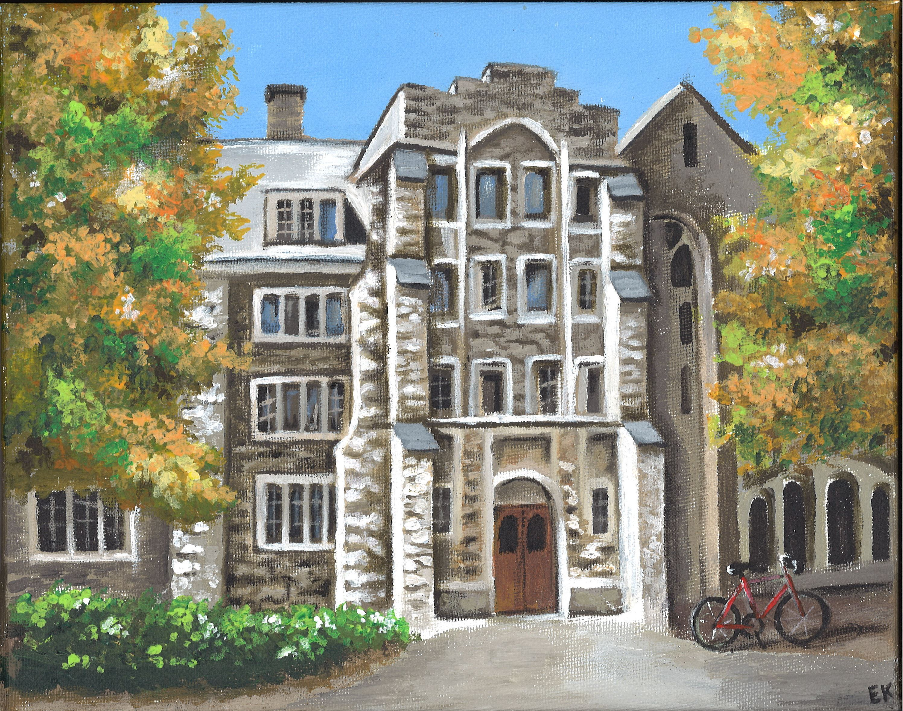 Mellby Hall St Olaf College Erinn S Artwork Pinterest