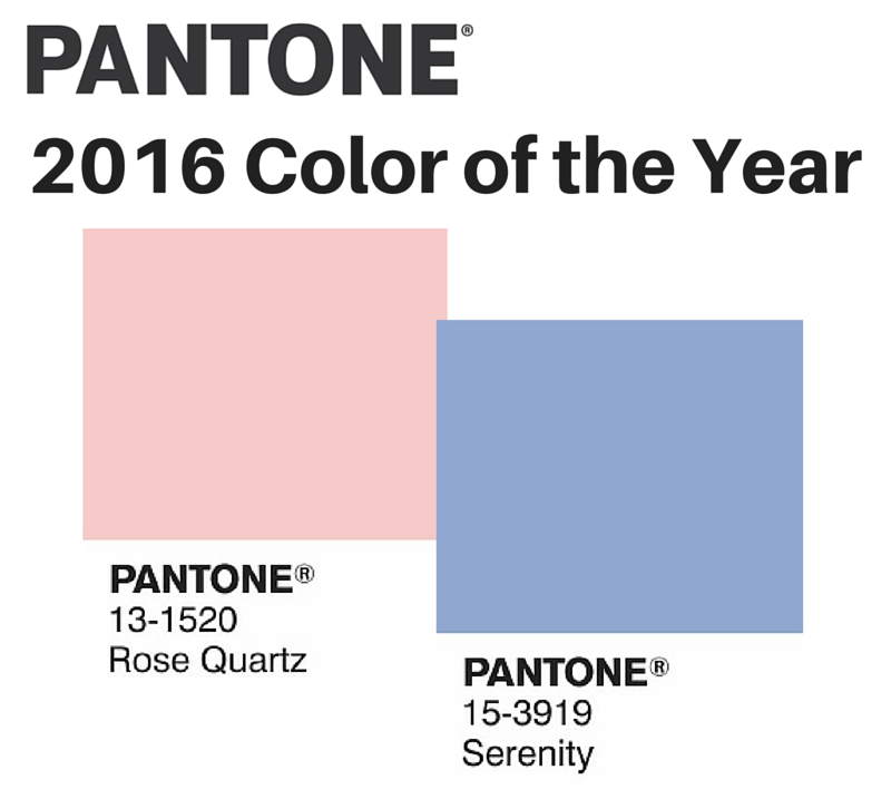 Pantone 2016: 2016 Pantone Color Of The Year
