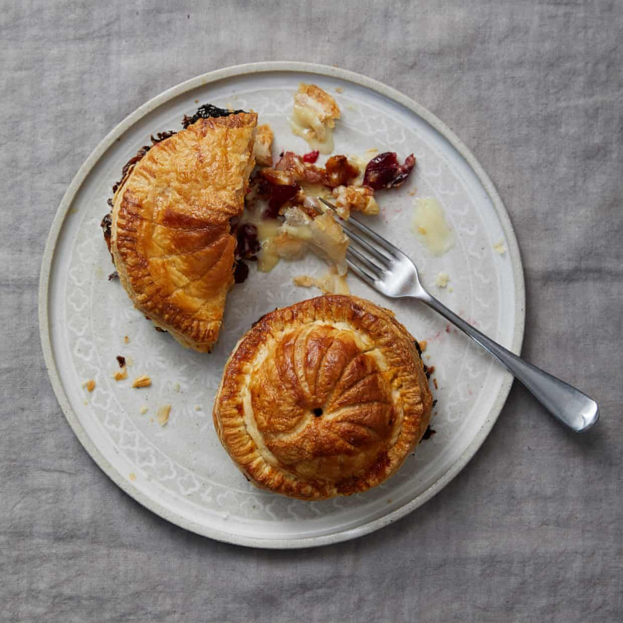 A New Year's Eve dinner menu by Great British Bake Off