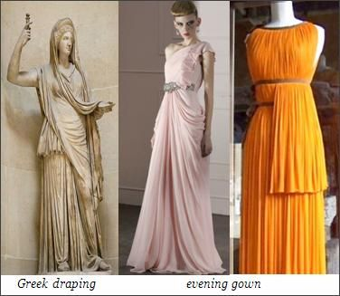 Greek fashion modern inspiration ancient greek fashion Rome fashion designers