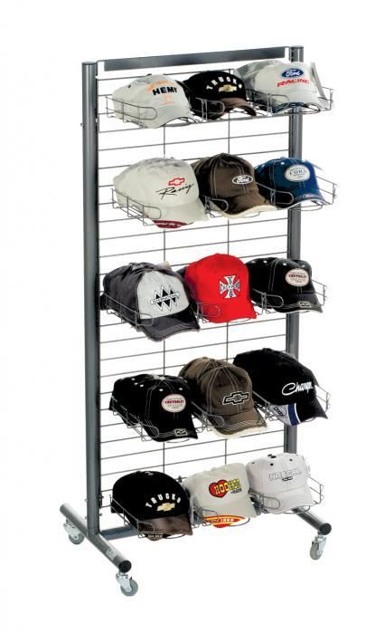 Grid Merchandiser For Hats Hat Display Cap Display Cap Display Ideas