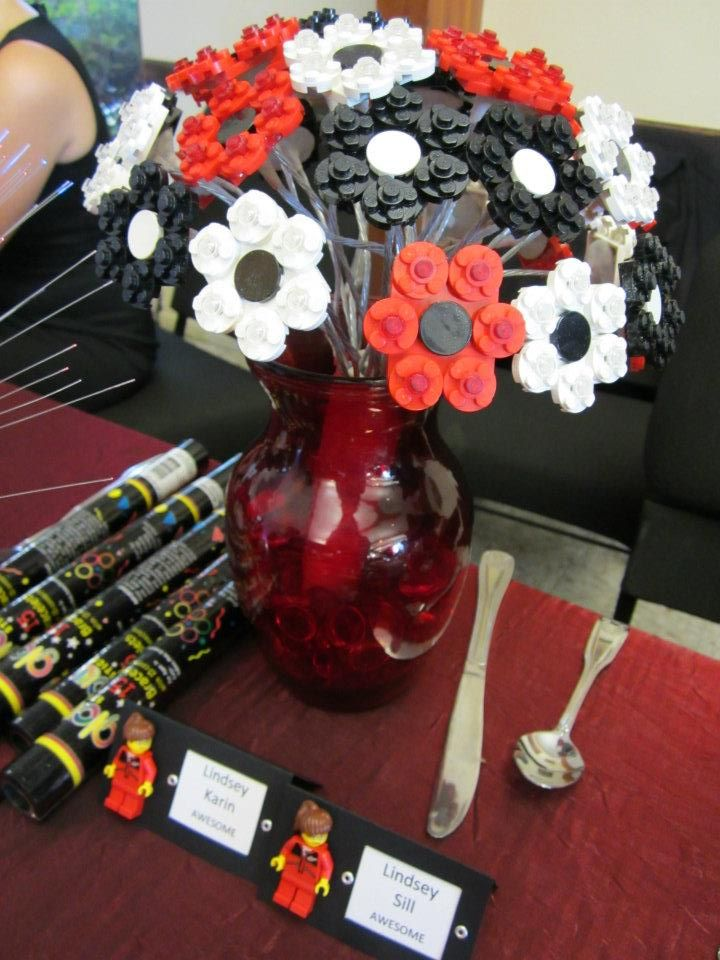 Lego flower bouquet lego planten