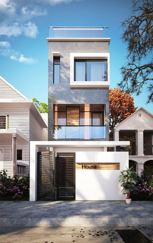 Facade House Image By Sax Chittananonh On Architecture Design